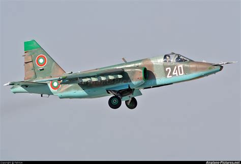 the bulgarian air force 240 bulgaria air force sukhoi su 25k at plovdiv krumovo photo id 155154 airplane