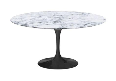 tavoli knoll saarinen saarinen tavolo rotondo in marmo knoll milia shop