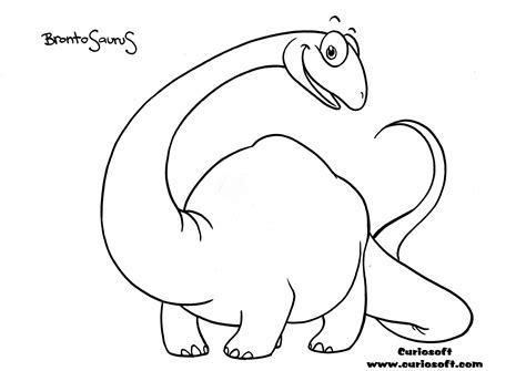 apatosaurus coloring page free kids games coloring pages