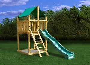 discovery fort plans wooden swing set kit free shipping