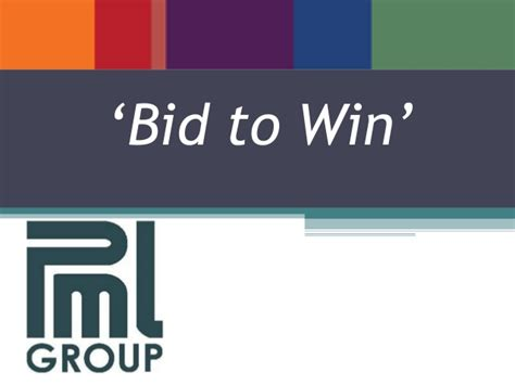 bid and win bid to win