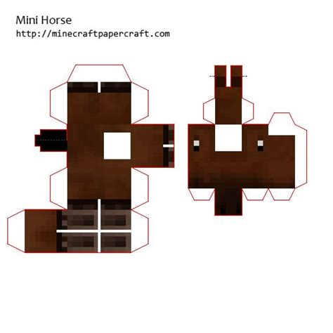 Minecraft Papercraft Animals - minecraft papercraft mini animals www pixshark