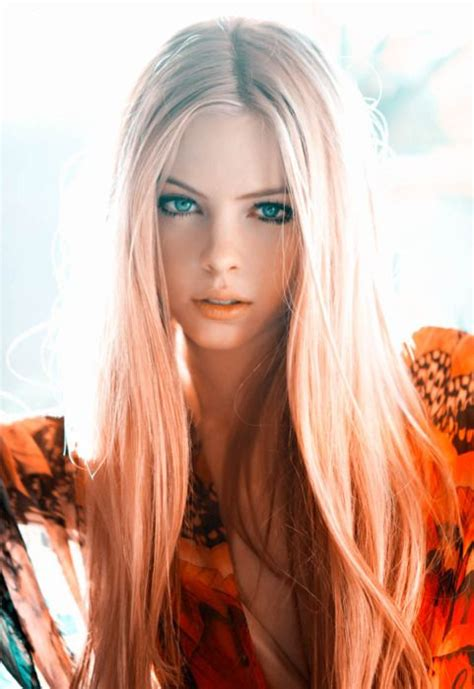 gorgeous long blonde hair peach unique hair color inspiration strayhair
