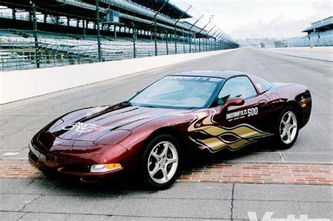 chevrolet corvette indy  pace car car