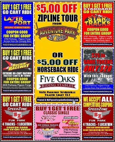 printable restaurant coupons for pigeon forge tn gatlinburg coupons 2015 autos post
