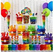 Candy Buffet Ideas &amp Supplies  Single Colour Lollies Shindigscomau
