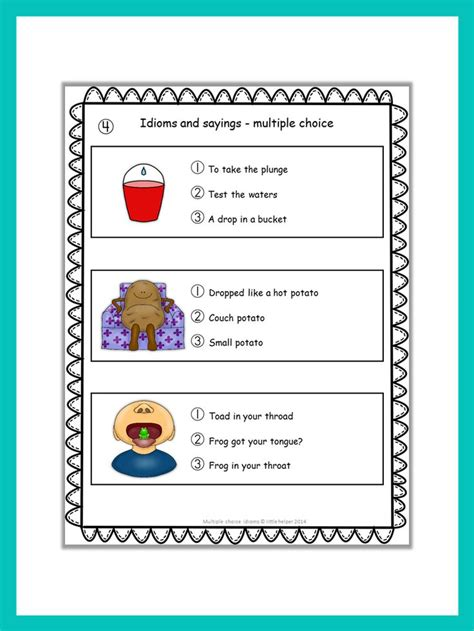 theme quiz multiple choice multiple choice worksheets on theme body parts