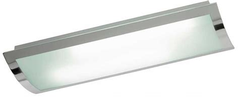fluorescent kitchen ceiling lights bay modern glass fluorescent flush kitchen ceiling light