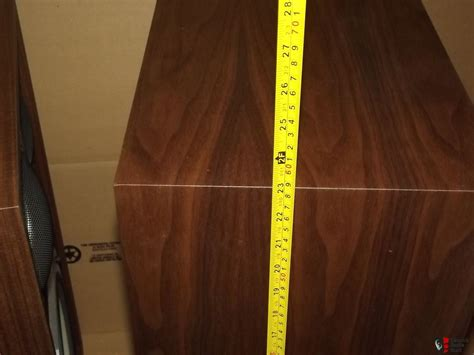 Vintage American Acoustics D3550e Box Pair Of American Acoustics Labs Aal Classic Series 110 Speakers New In Box Photo 1060564