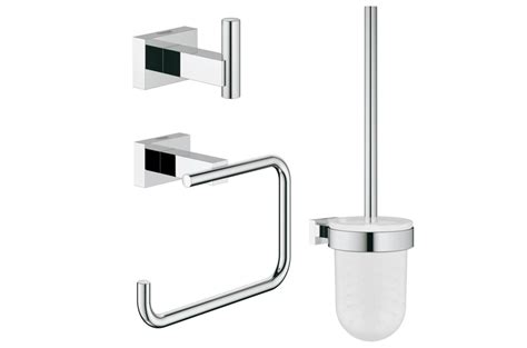 grohe accessori bagno grohe essentials cube new set accessori bagno 40757001