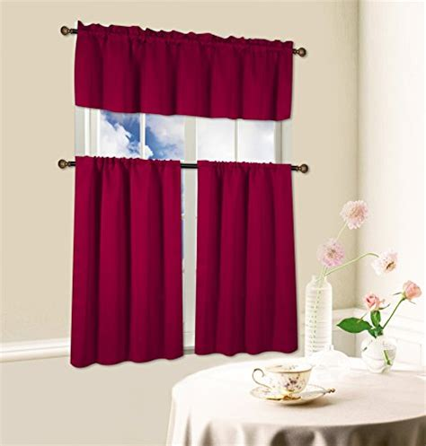 kitchen curtains for sale top 5 best kitchen curtains in red for sale 2017 best