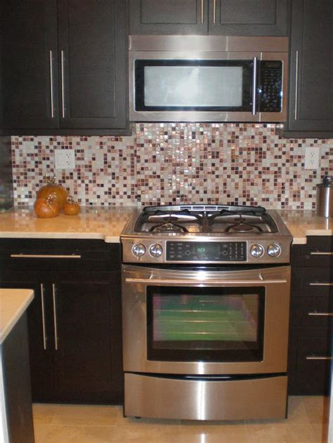 mosaic glass backsplash kitchen mosaic tile kitchen backsplash hgtv