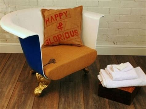 roll top sofa upcycled roll top bath sofa seat squeaky upcycling