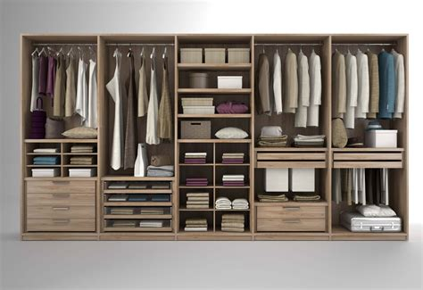 contenitori per guardaroba come sono fatti gli armadi e i guardaroba