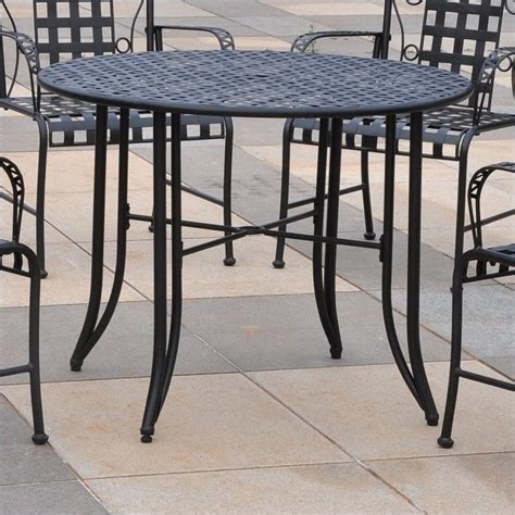Outdoor Dining Sets Metal 5 Metal Patio Dining Set 3454
