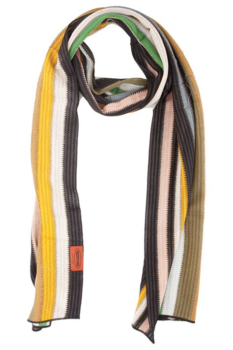 Of The Week Dolce Gabbana Striped Lurex Knit And Chain Shorts by Missoni Lurex Stripe Scarf In Multicolor Multi Lyst