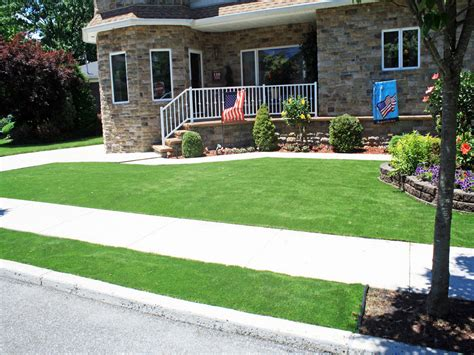 front yard ideas in artificial grass utah