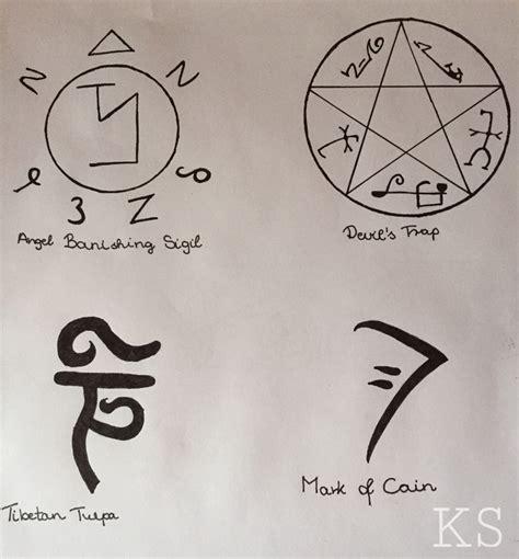 supernatural demon tattoo supernatural symbols supernatural