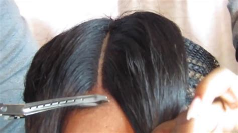 Prettyhairboss How To Do Lace Closure Sew In   YouTube