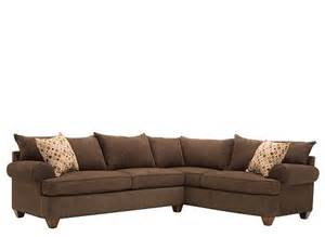 vegas 2 pc microfiber sectional sofa like the city it s named after this vegas 2 piece