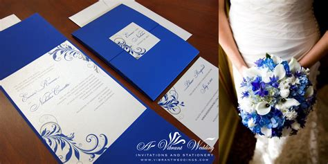 blue wedding invitations blue and silver wedding invitation a vibrant wedding