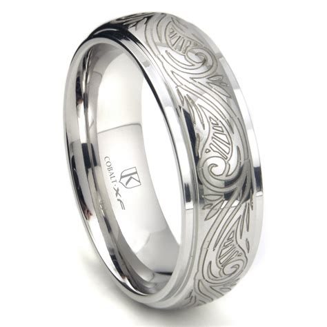 our best unique s engraved wedding bands cool