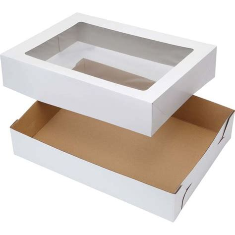 cake boxes with window 19x14 corrugated window cake boxes wilton