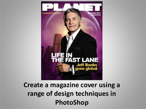 design a magazine cover in photoshop advanced photoshop magazine tutorial