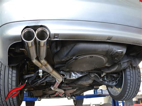 Audi A4 B5 Auspuff by B5 S4 Cat Back Exhaust System Fast Intentions