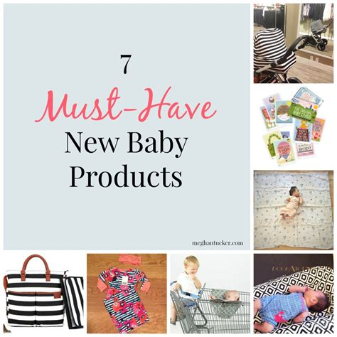 7 Must Haveb Aby Accessories by 7 Must Newborn Baby Items Www Meghantucker