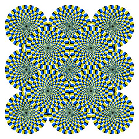 printable moving optical illusions illusions
