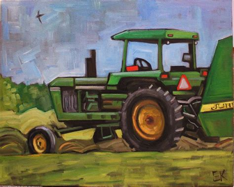 tractor painting new deere tractor painting