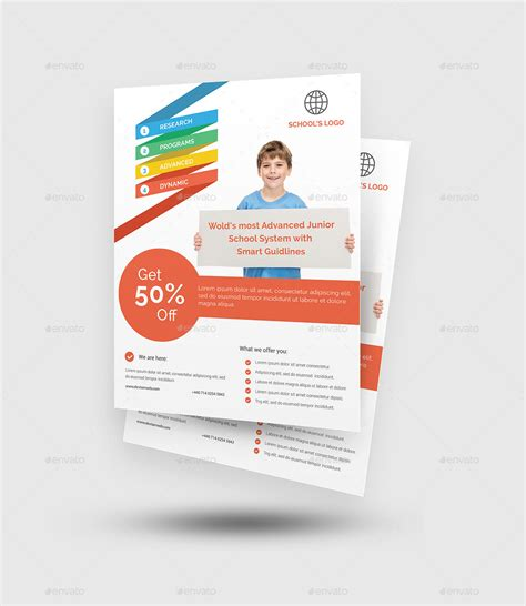 education poster templates school flyer by rtralrayhan graphicriver