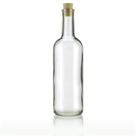 vasi e bottiglie vetro 200ml bottiglia in vetro chiaro quot studio quot bottiglie e vasi it