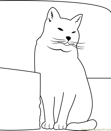 coloring page fat cat easy fat cat coloring coloring pages