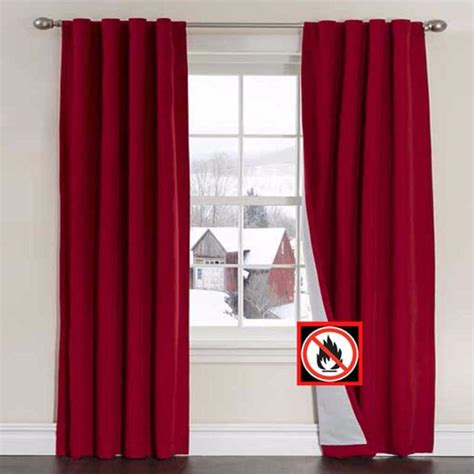 flame retardant drapes firefend flame retardant curtain panels louis hornick