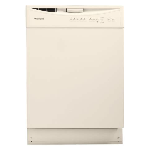 frigidaire dishwashers front dishwasher in bisque