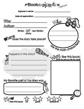 25 best ideas about book report templates on pinterest