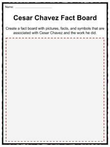 Cesar Chavez Worksheet by Cesar Chavez Worksheet Geersc