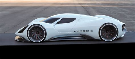 porsche concept cars porsche electric le mans 2035 prototype looks believable