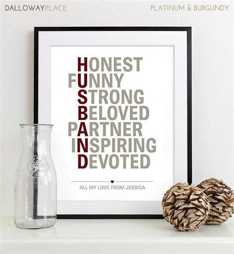 Wedding Anniversary Gift To Husband by Unique Wedding Anniversary Gift For Husband Best 25