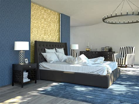 blue and gold bedroom ideas 93 modern master bedroom design ideas pictures