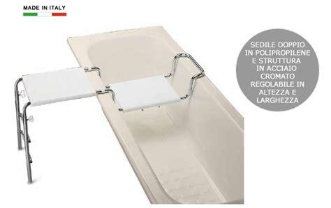 materiale vasca da bagno sedile doppio per vasca da bagno in polipropilene e