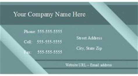 Openoffice Business Card Template Synchronize With What by Open Office Business Card Template Lovetoknow