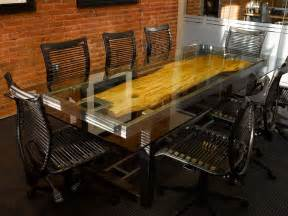 Boardroom Table Ideas Custom Conference Table By Where Wood Meets Steel Custommade