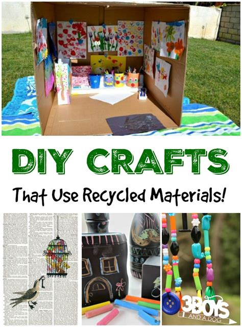 diy recycled crafts diy crafts using recycled materials 3 boys and a 3
