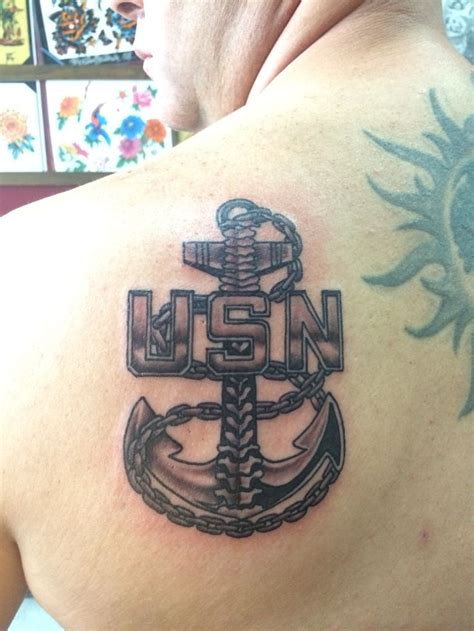 us tattoo us navy cpo anchor navy chief navy pride navy