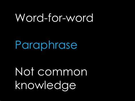 apa format common knowledge basics of apa style