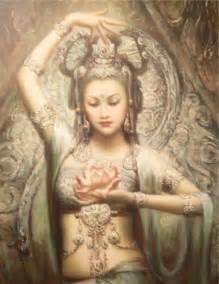 Tara Lotus Quan Yin Kamelienyoga