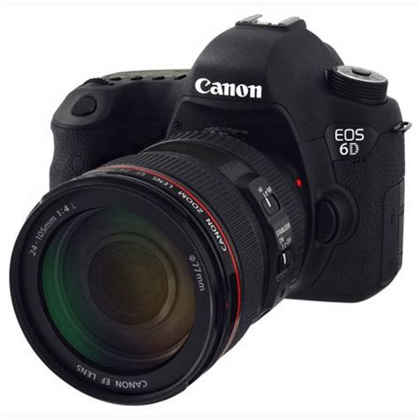 Canon 6d Lensa 24 70 F4 canon eos 6d digital slr with 24 70mm f4 l is usm